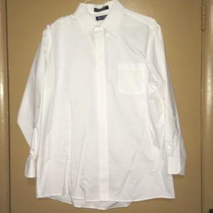 Men's Puritan white dress shirt
